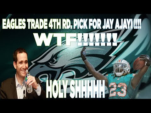 EAGLES TRADE 4TH RD PICK FOR JAY AJAYI!!!!!! SALUTE TO HOWIE ROSEMAN