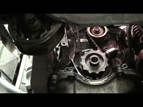 2000 honda civic ex timing belt water pump diy d16y8 for Honda civic timing belt replacement