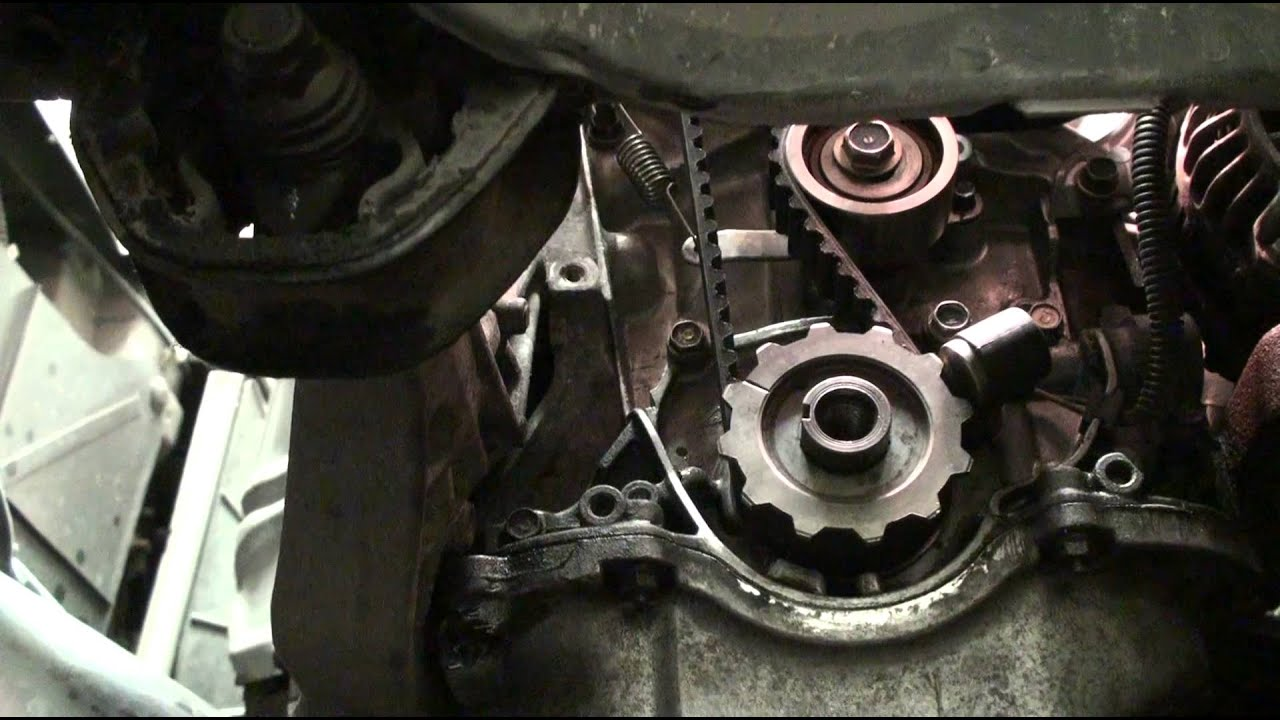 diy ek series honda civic acura el timing belt and water