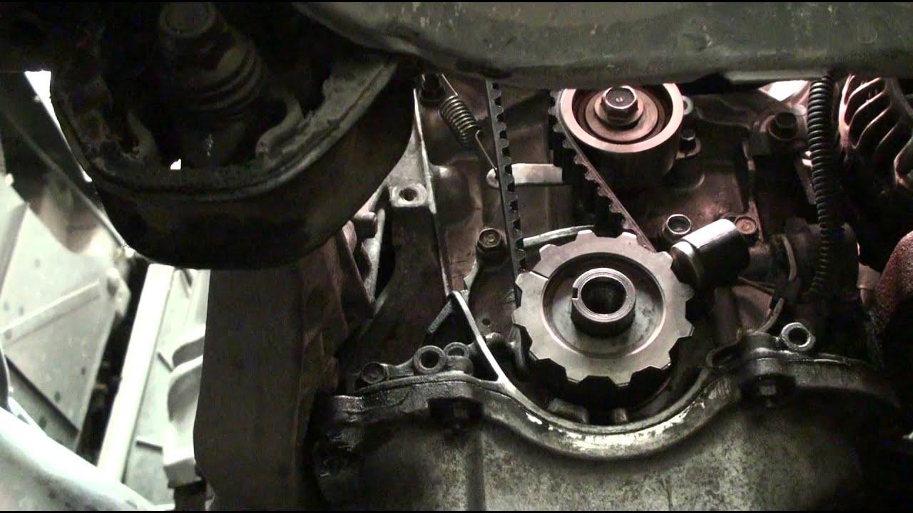 DIY EK Series Honda Civic Acura EL Timing Belt and Water