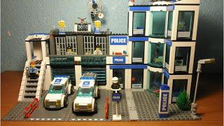 Lego City Police Station Set 7498 Resimi