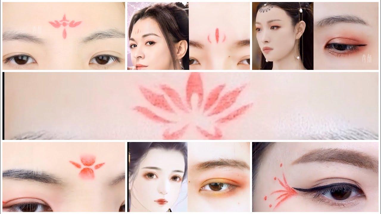 |TIKTOK|Hướng dẫn chi tiết cách trang điểm mắt cosplay cổ trang Trung Quốc 🇨🇳 – Nhã Di Các