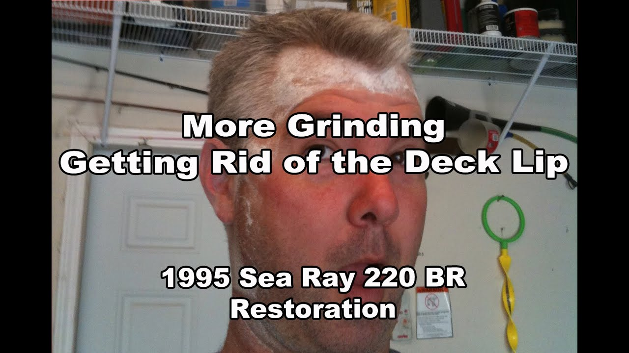Carpet Glue Removal on the Sea Ray Restoration VLOG#27