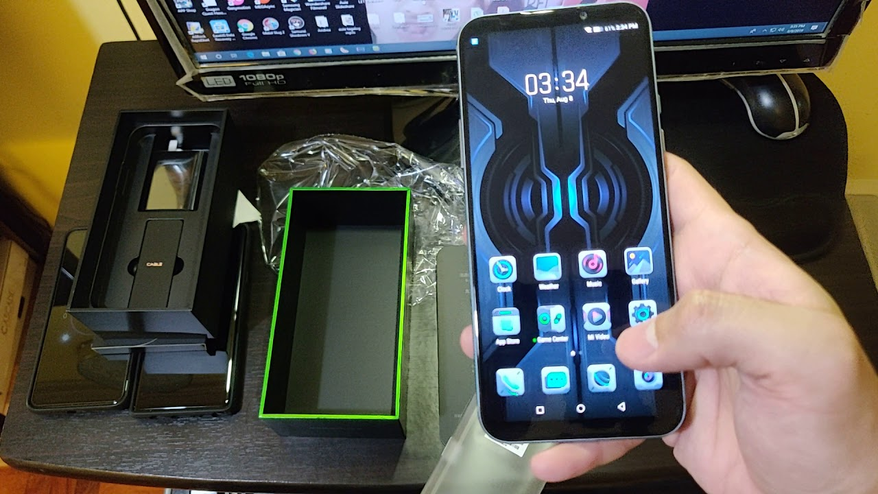 Xiaomi Black Shark 2 Pro Unboxing and initial impressions
