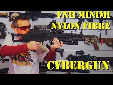 Airsoft - Cybergun - FNH Minimi Nylon Fibre [French]