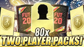 80 x TWO PLAYER PACKS!! ONES TO WATCH! FIFA 20 Ultimate Team