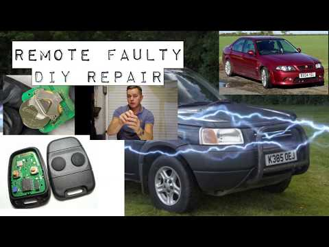 Key Remote Repair Landrover Freelander, Rover 400,  MG Defender, Discovery