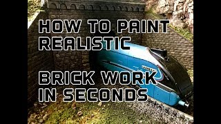Baixar Building A Model Railway Part 2 : How To Paint Realistic Brick Work