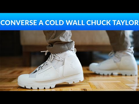 Converse x A Cold Wall - Chuck Taylor Review and On-Feet