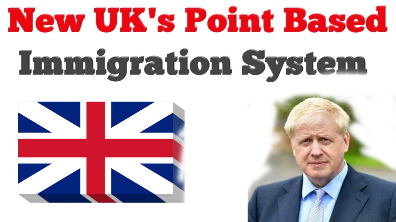 UK's New Point Based Immigration System, UK Politics, UK Immigration, Boris Johnson , #IAS #UPS