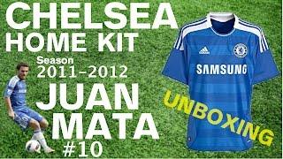 Chelsea Home Kit: Season 2011-2012, #10 Juan Mata (ClassicFootballShirts.co.uk unboxing and review)