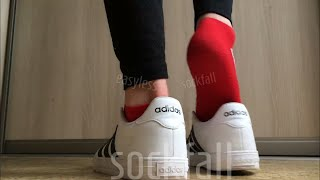 In ankle socks Lesbians