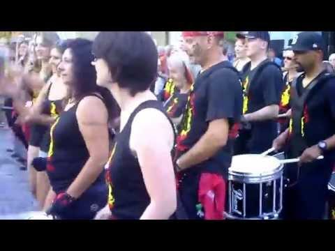Jalapenos Percussion: Samba Reggae Altstadtfest Amberg 19.07.14
