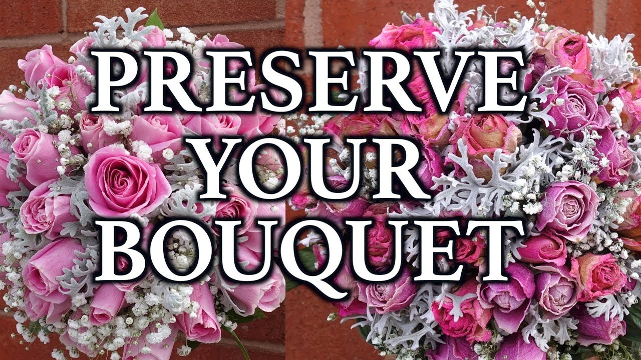 How to preserve your bouquet forever - YouTube