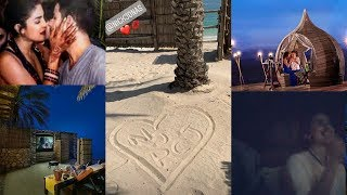 First video of just married Priyanka Chopra and Nick from their Honeymoon in Oman