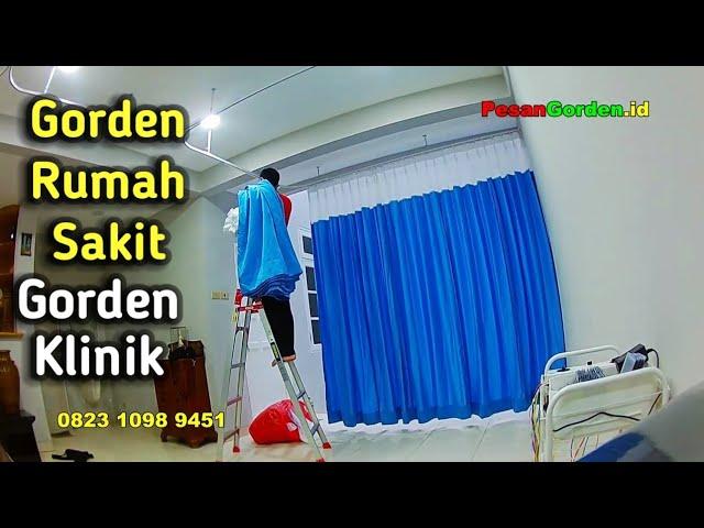 Gorden Cengkareng | Pasang Gordyn Klinik / Tirai Rumah Sakit 082310989451 #gudanggorden