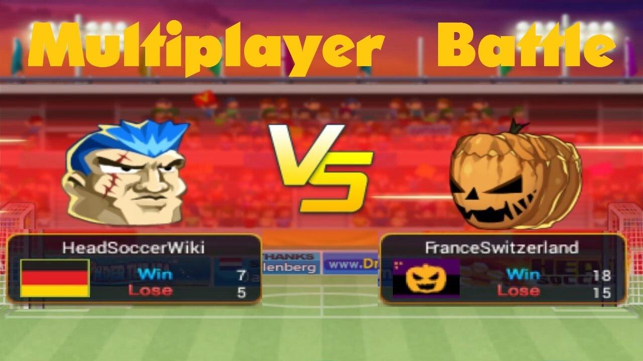 Head Soccer Multiplayer