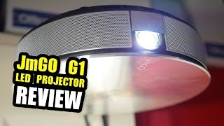 Review; JmGO G1 LED Projector - TV, Movies Gaming…