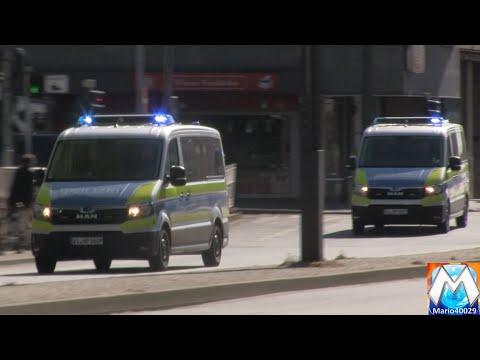 [MAN TGE] 2x Neuer GruKW Überfallkommando Polizei Frankfurt