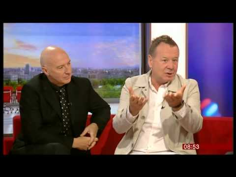 Lead singers from Ultravox and The Simple Minds on BBC Breakfast
