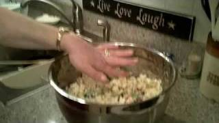 Kathy's Recipe Marshmallow And Popcorn Balls 7