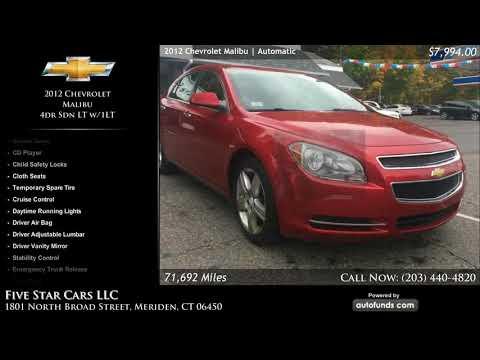 Used 2012 Chevrolet Malibu | Five Star Cars LLC, Meriden, CT