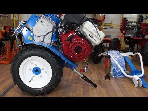 Мотоблок НЕВА МБ-23 H-9.0 PRO с двигателем Honda GX270 9,0 л.с. обзор и инструкция по сборке