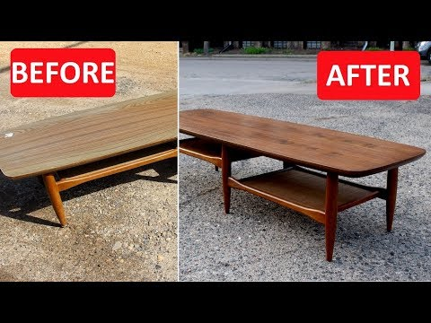 Mid Century Furniture Refinish