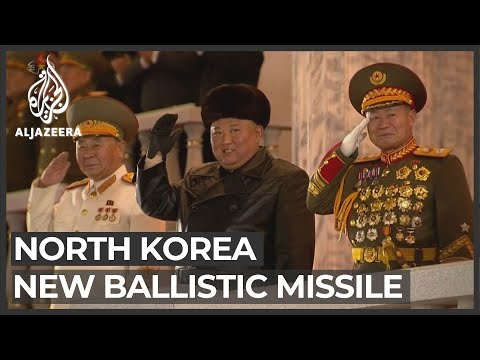 'The world's most powerful weapon': N Korea parades new missile