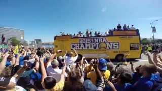 Golden State Warriors 2015 NBA Championship Tribute - Parade/Highlights