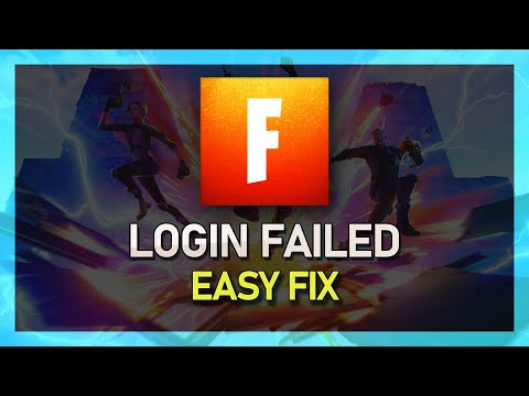 Fortnite Season X - Login Failed Error Fix! Fast & Easy - PC And Console
