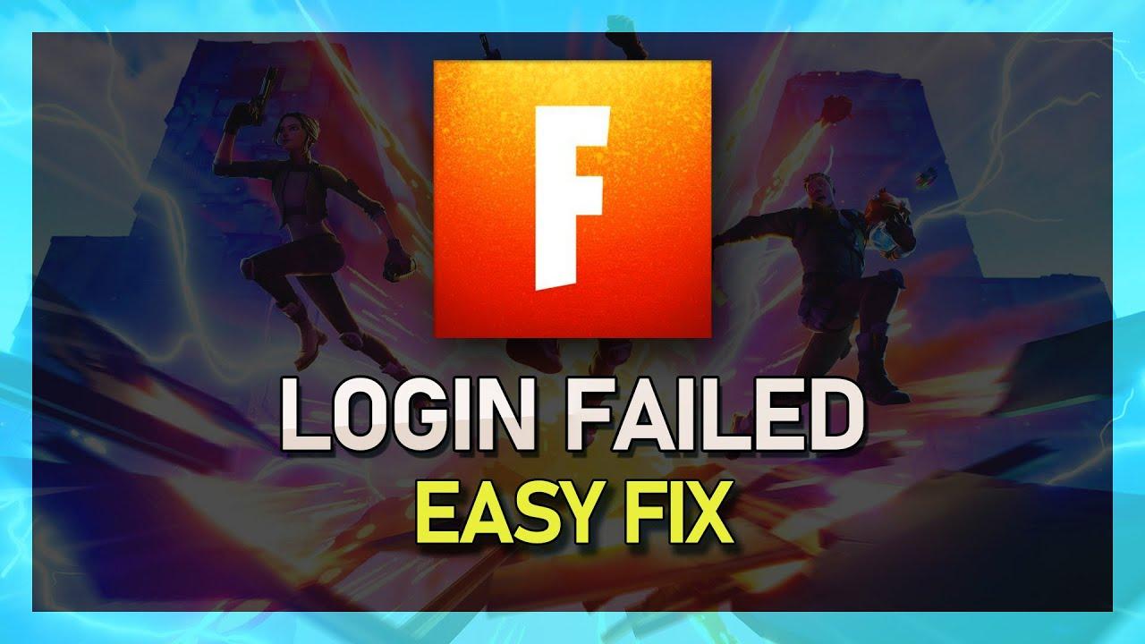 fortnite season 7 login failed error fix fast easy pc and console - fortnite login fehlgeschlagen xbox one