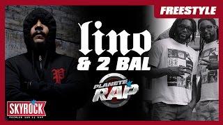 Freestyle de Lino et 2 Bal en live dans Planète Rap