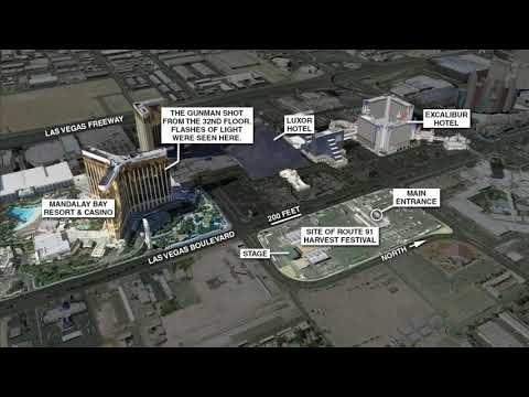 Las Vegas Shooting Maps