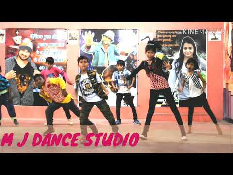 Dj bajega to pappu nachega song)Raja Sir Choreography | (M J DANCE STUDIO ) 17th video