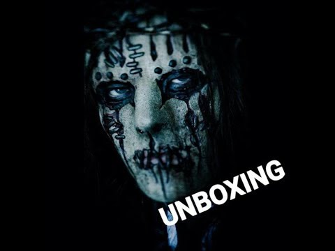 Joey Jordison All hope is gone mask unboxing