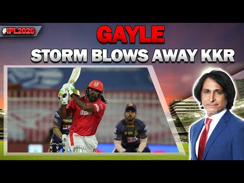 Ramiz Raja: Mandeep Singh, man of the day   Gayle storm blows away KKR