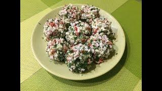 Рецепт закуски Новогодние Шары / простой рецепт закуски