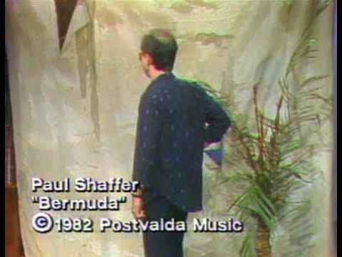 "Paul Shaffer's ""Bermuda"" Collection on Late Night, 1982–84"