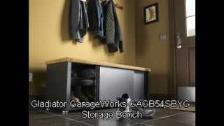 Gladiator Garageworks Gagb54sbyg Storage Bench Reviews Sales Discount And Cheap Price