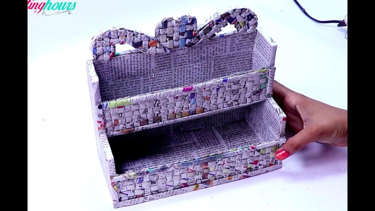 Diy Drawer Organizer Cardboard