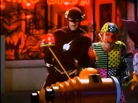 The Flash (9/10) Clip - Flash and Trickster's Boys Night Out (1990) - John Wesley Shipp, Mark Hamill
