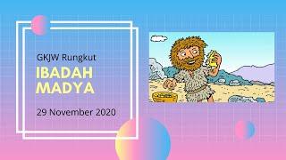 Ibadah Madya 29 November 2020   GKJW Rungkut