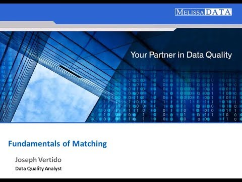 Learn the Fundamentals of Matching Customer Data