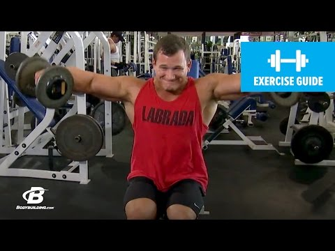 How to Seated Dumbbell Side Lateral Raise with Hunter Labrada | Exercise Guide