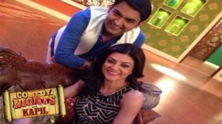 Sushmita Sen on Comedy Nights with Kapil 4th May 2014 EPISODE