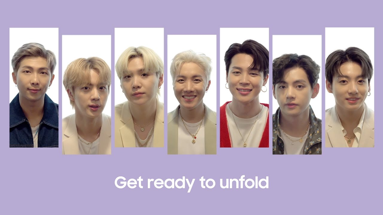 Get ready to unfold with BTS | Samsung