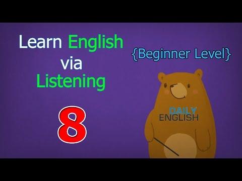 Learn English via Listening Beginner Level   Lesson 8   Mark's Big Game