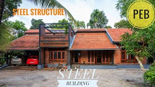 Pre engineered residential building structure .#peb#preengineered#prefabricated