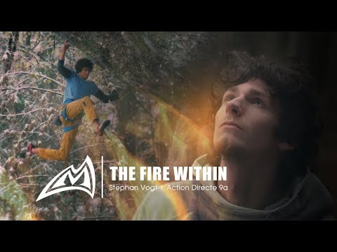 THE FIRE WITHIN  Stephan Vogt  Action Directe 9a